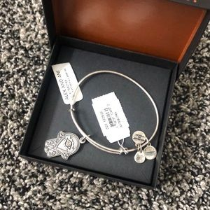 Alex and Ani sterling silver bracelet